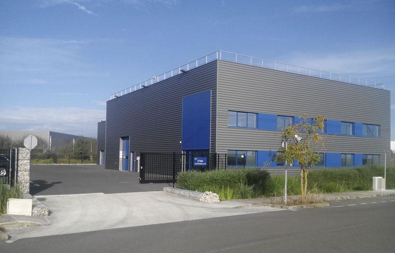 Les locaux de Europemballage ETMD à GUIBEVILLE dans l'Essonne