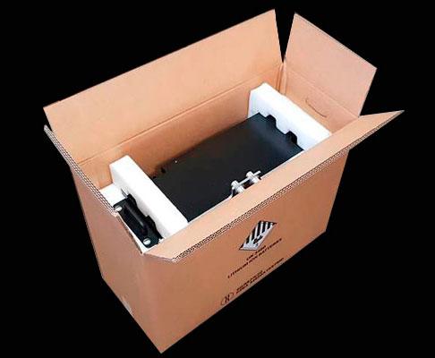 Lithium batteries box