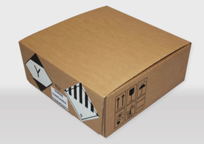 cardboard box un id8000 iata