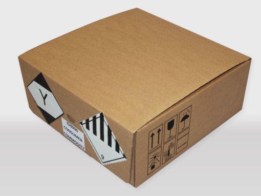 Caisses cartons ONU ID 8000 IATA