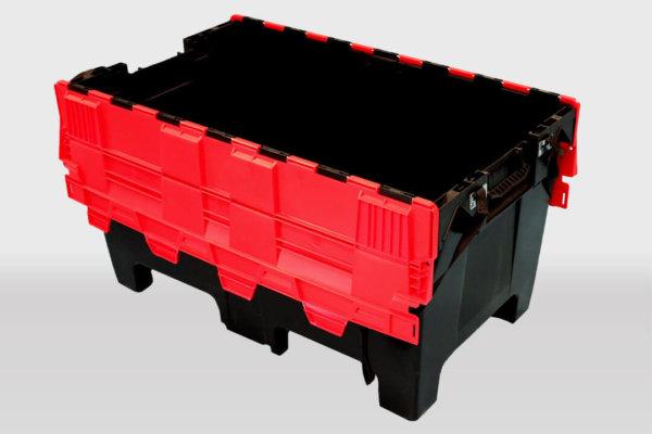 caisse plastique ONU Europemballage C1213 200 Litres ouverte