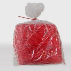 Europemballage L1001 - Liens de fermeture rouge